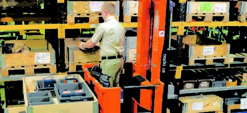 Eliminating Reach Trucks & Fork Lifts for Picking