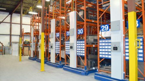 Industrial Powered Racking Storage