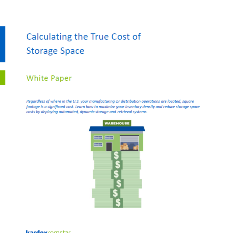 Calculating the True Cost of Storage Space