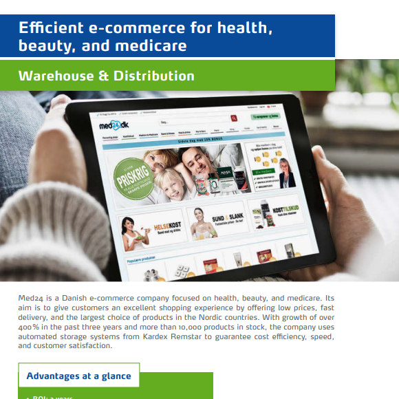 Efficient E-Commerce for Health, Beauty and Medicare