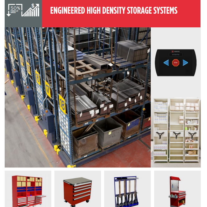 Warehouse Storage - High-Density Storage Solutions