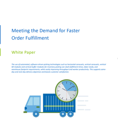 Meeting the Demand for Faster Retail Order Fulfillment