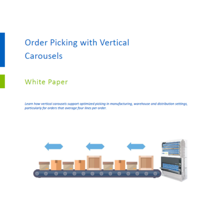 Ordering Picking with Vertical Carousels