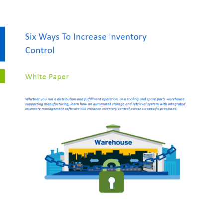 Six Ways to Increase Inventory Control