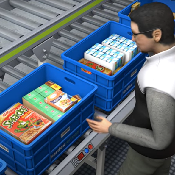 Video - Grocery Store Picking with Horizontal Carousel