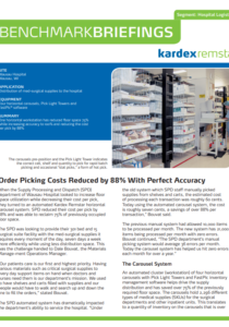 Case Study - Wasau Hospital - Increased Order Accuracy by 88%
